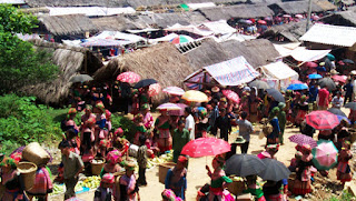 Bac Ha Market (every Sunday) 1