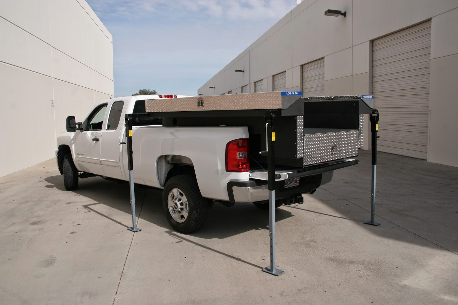 Aluminum Truck Boxes for Pickups