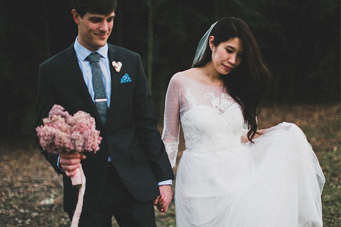 mariage, hiver, mariage d'hiver, décoration de mariage, mariage thème Noël