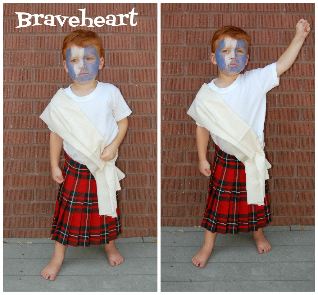 DIY Braveheart Costume & Whatever Dee-Dee wants sheu0027s gonna get it: DIY Braveheart Costume ...