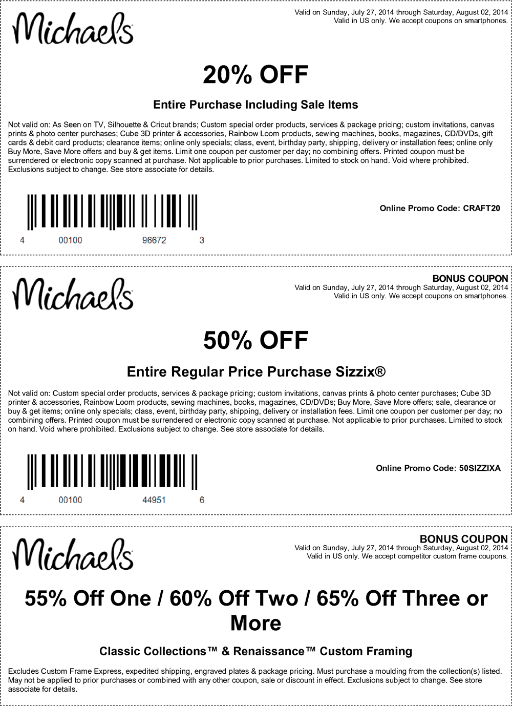 Michaels Custom Framing Coupon | www.topsimages.com