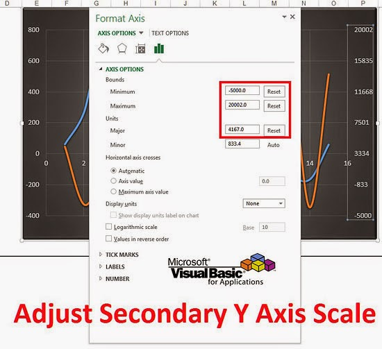 Automatically Adjust Secondary Y Axis Scale Through VBA