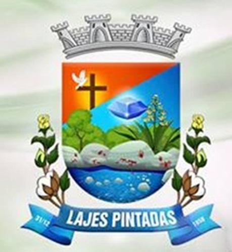 Brasão Oficial de Lajes Pintadas, RN