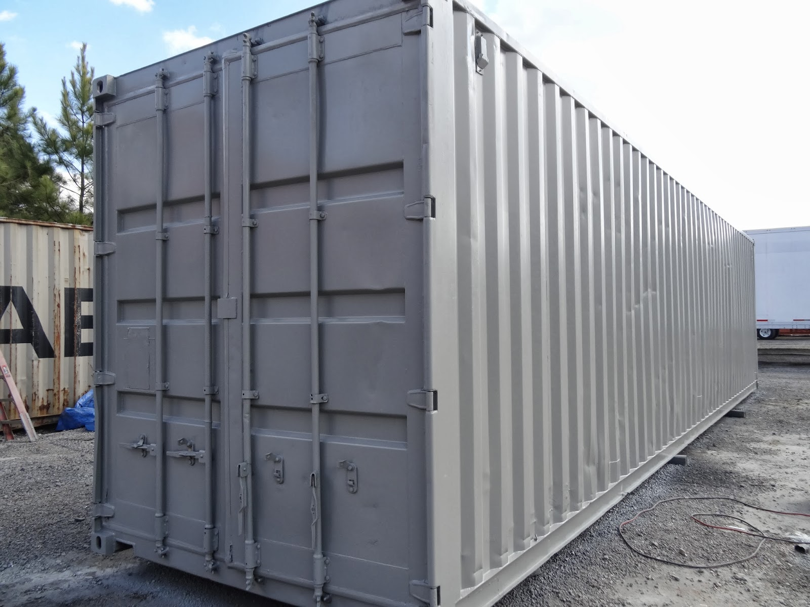 Used Shipping Containers For Storage Containers...Good Idea?