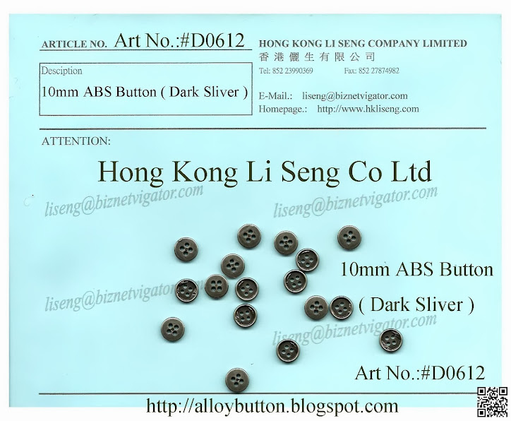 10mm ABS Button Manufacturer - Hong Kong Li Seng Co Ltd