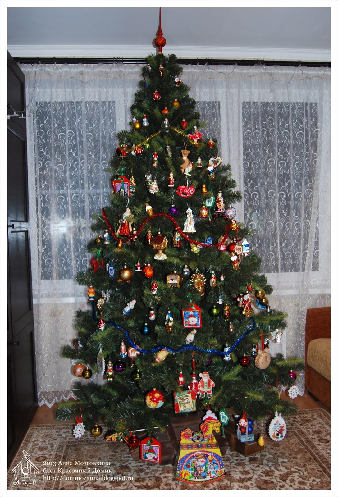наша новогодняя елка