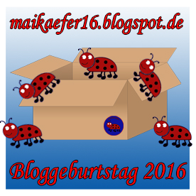 Maikäfer - Bloggeburtstag