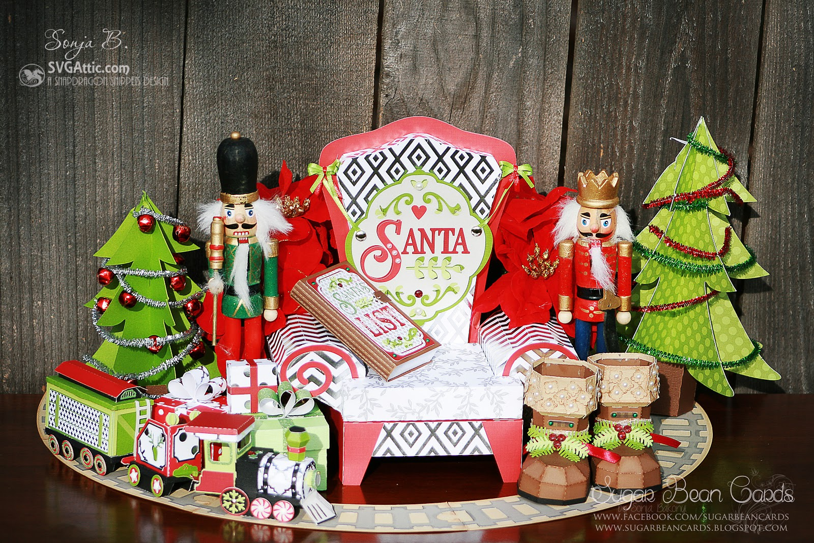 SVG Attic Blog Visiting Santa