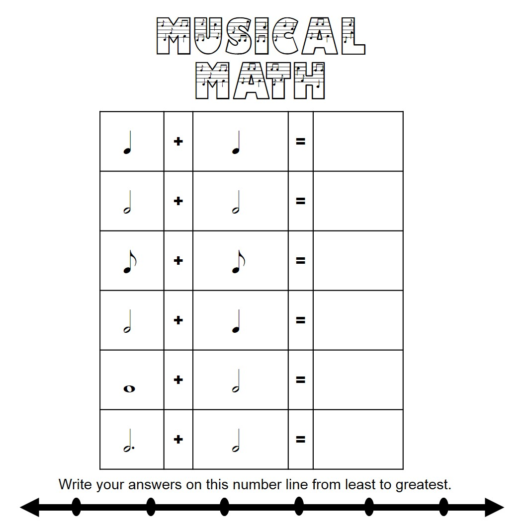 math relate to music The fibonacci series appears in the foundation of aspects of art, beauty and life even music has a foundation in the series, as: there are 13 notes in the span of any note through its octave.