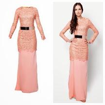 Kurung Prada Lace inspired Maya Karin
