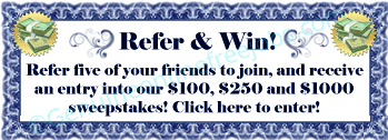 Referral sweepstakes
