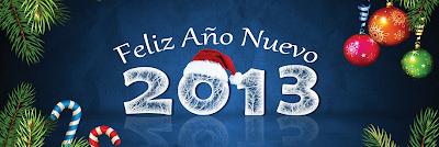 Portada para Facebook año nuevo 2013