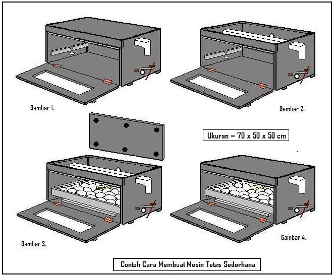 Metode Penetasan Telur Itik Modern Menggunakan Mesin Tetas