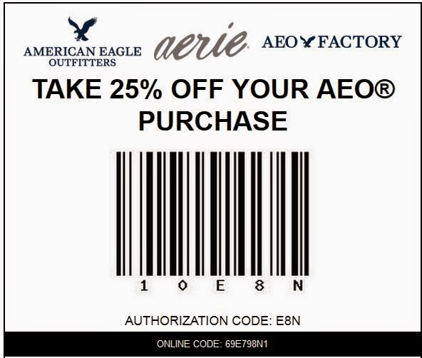 Printable american eagle coupons july 2018