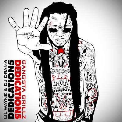 portada de deciation 5 mixtape lil wayne dj drama