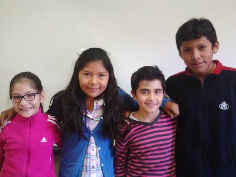 J.Diego, Lesly, Patricia y Enrique