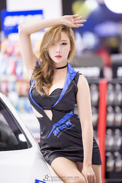 2 Seo Aran - Automotive Week 2015 - very cute asian girl-girlcute4u.blogspot.com