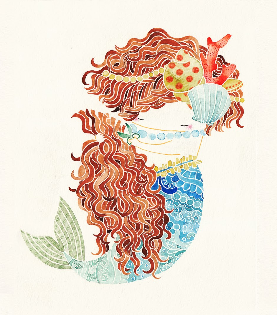 http://shuokada.com/en/illustration/mermaid