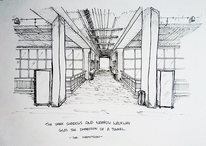 Project 1a: On-Site Sketching | Ken-WCT