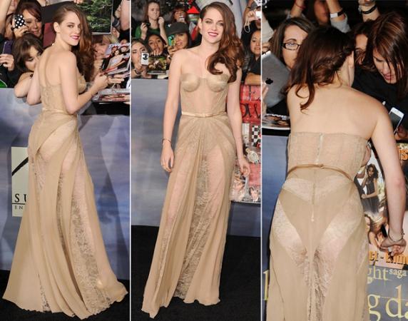 Kristen Stewart Wardrobe Malfunctions
