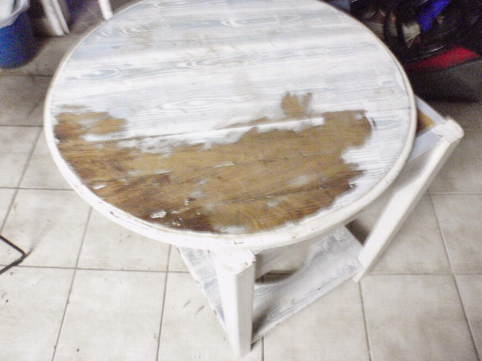 Mesa camilla restaurada - Mesa camilla redonda ...