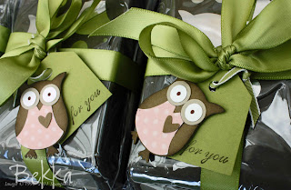 Stampin' Up! Owl Punch Tags