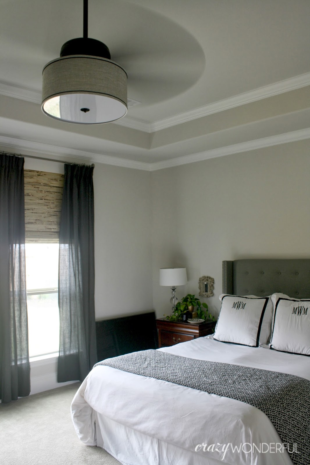 crazy wonderful diy drum shade ceiling fan