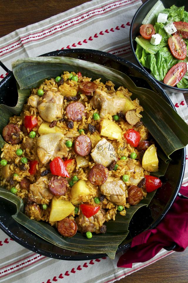 Valencian Rice Dish This Rice Dish Arroz