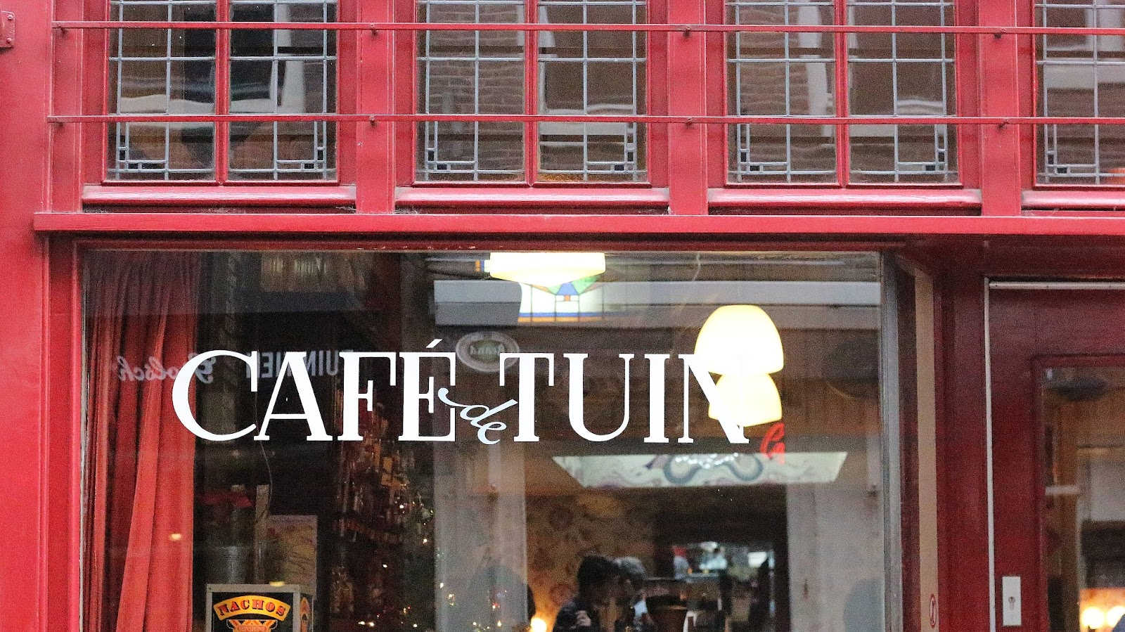 cafe de tuin amsterdam