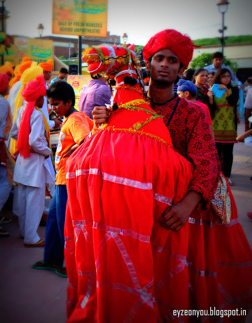 Rajasthani Folk Dancer