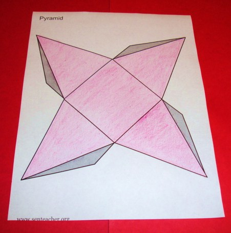 Students can create their own nets of different 3D shapes. They could ...