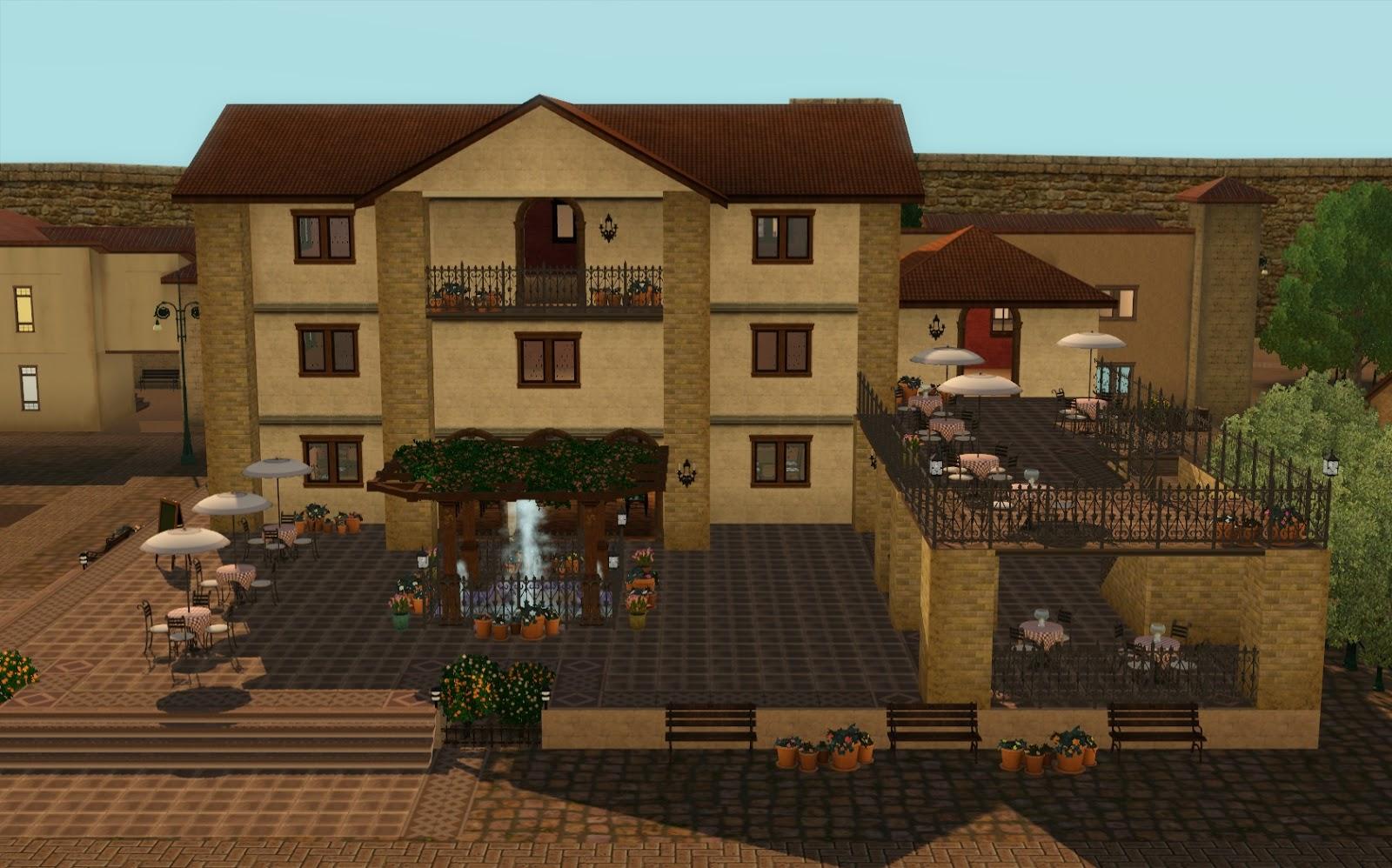 Summer 39 S Little Sims 3 Garden Monte Vista List Of Community Venues