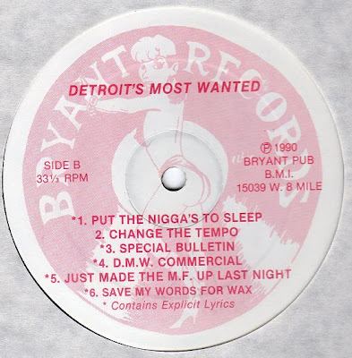 Detroit's Most Wanted – Tricks Of The Trades (1990) (VBR V2)