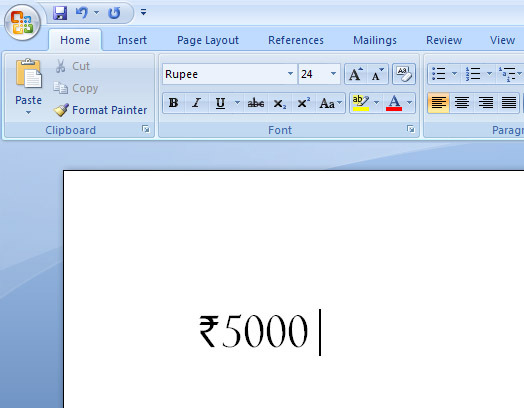 How To Write New Rupee Symbol Using Keyboard Hack Hacker Hacking