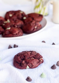 Çikolata Red Velvet aşırı duygusal Tereyağı Kek Çerezler