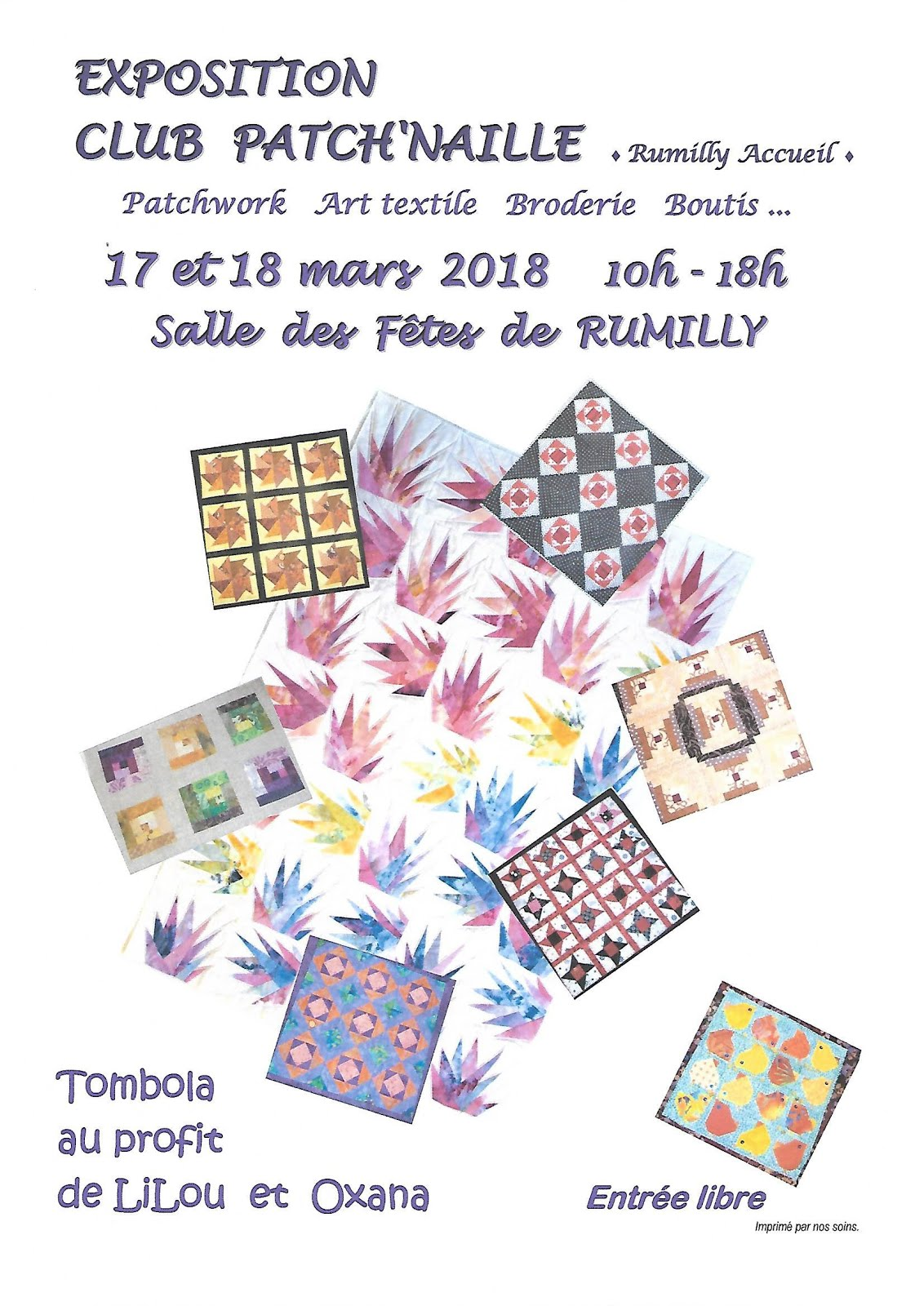 Exposition de patch à Rumilly
