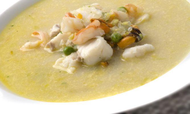 crema marinera, sopa con crema de mejilones, sopas con pescado, la sugerencia de hoy, la sugerencia del chef,