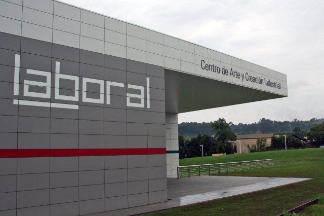 Exterior de LABoral Centro de Arte y Creacion Industrial en Gijon
