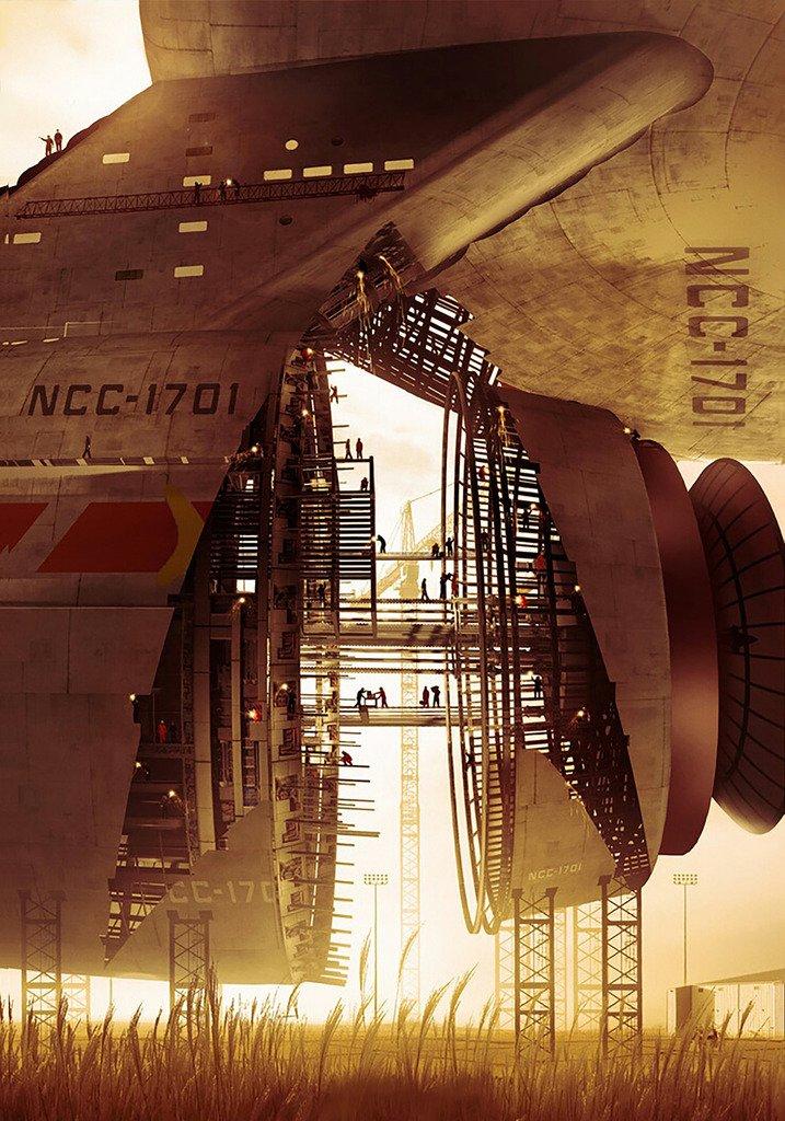 En el dique seco de la Flota Estelar