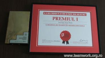 Premiul I - Gala Societății Civile, ediția 2012, Secțiunea Protecția Mediului