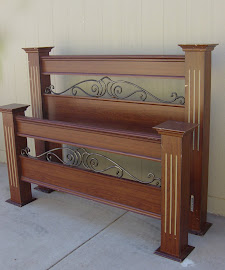 Headboard & Footboard (SOLD)