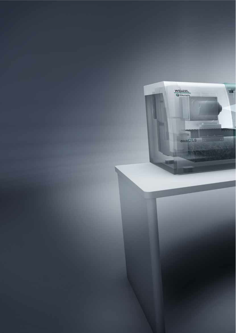 Computed Tomography - 3D Scanning. Wenzel America exaCT S.