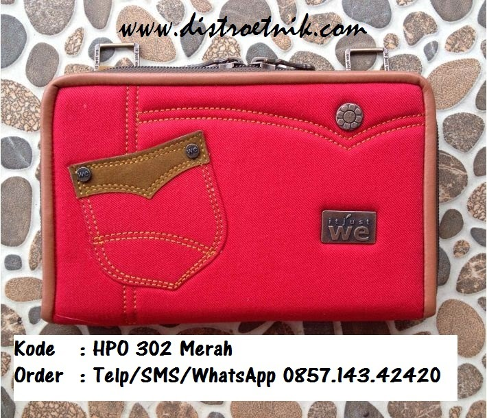 dompet hpo jeans it just we hpo 302 merah
