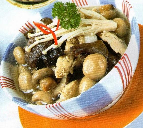 Resep Sup Jamur Bening