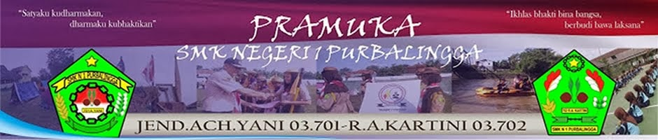 :: Pramuka SMK Negeri 1 Purbalingga ::