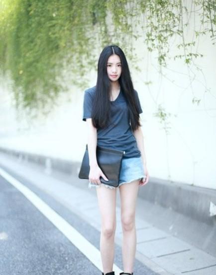 cute girls wearing shorts