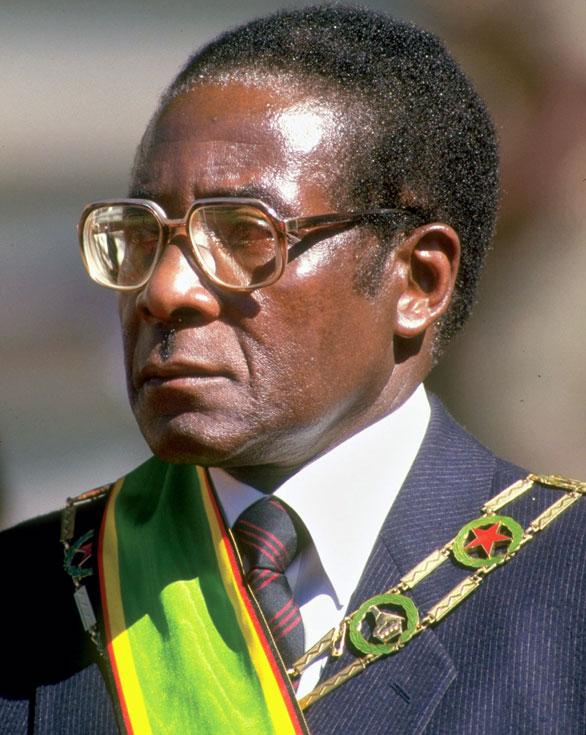Gallery Pics: Second President of Zimbabwe - Robert Mugabe