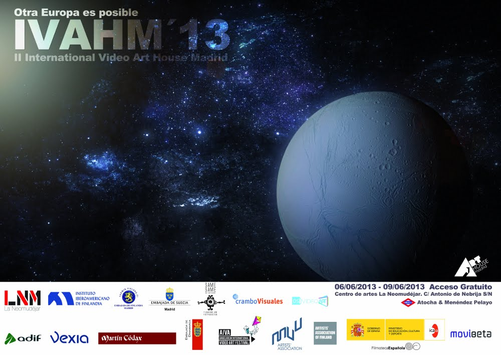 IVAHM'13: Festival Internacional Video Art House Madrid