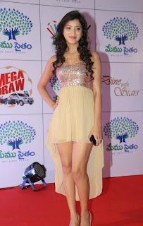 Actress Richa Panai Latest  Pictures at Memu Saitam Dinner with Stars Red Carpet  3.jpg