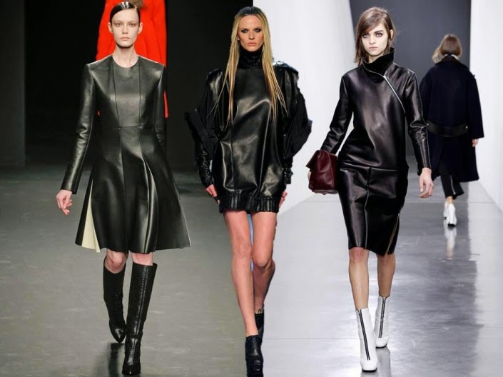 2015 Deri Etek Modelleri,mini deri etek kombinler,2015 deri modası bayan